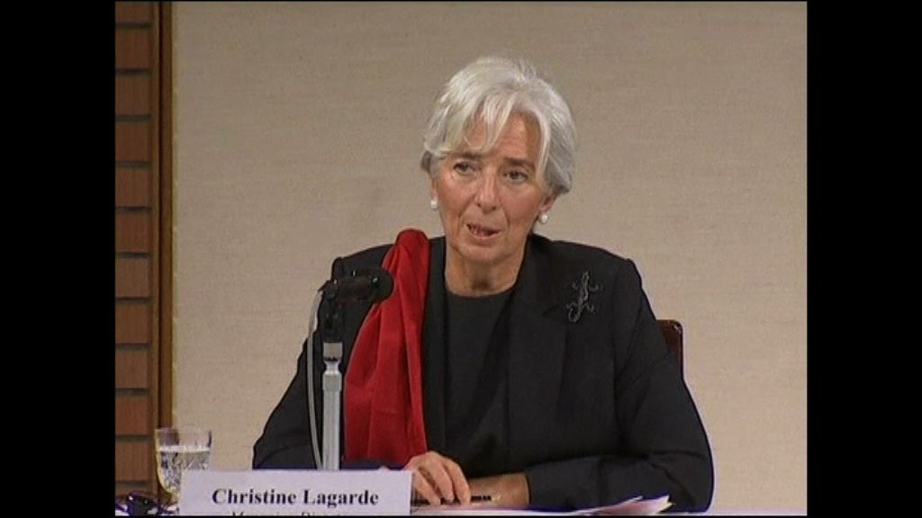 IMF總裁拉加德:看到全球經濟的春天