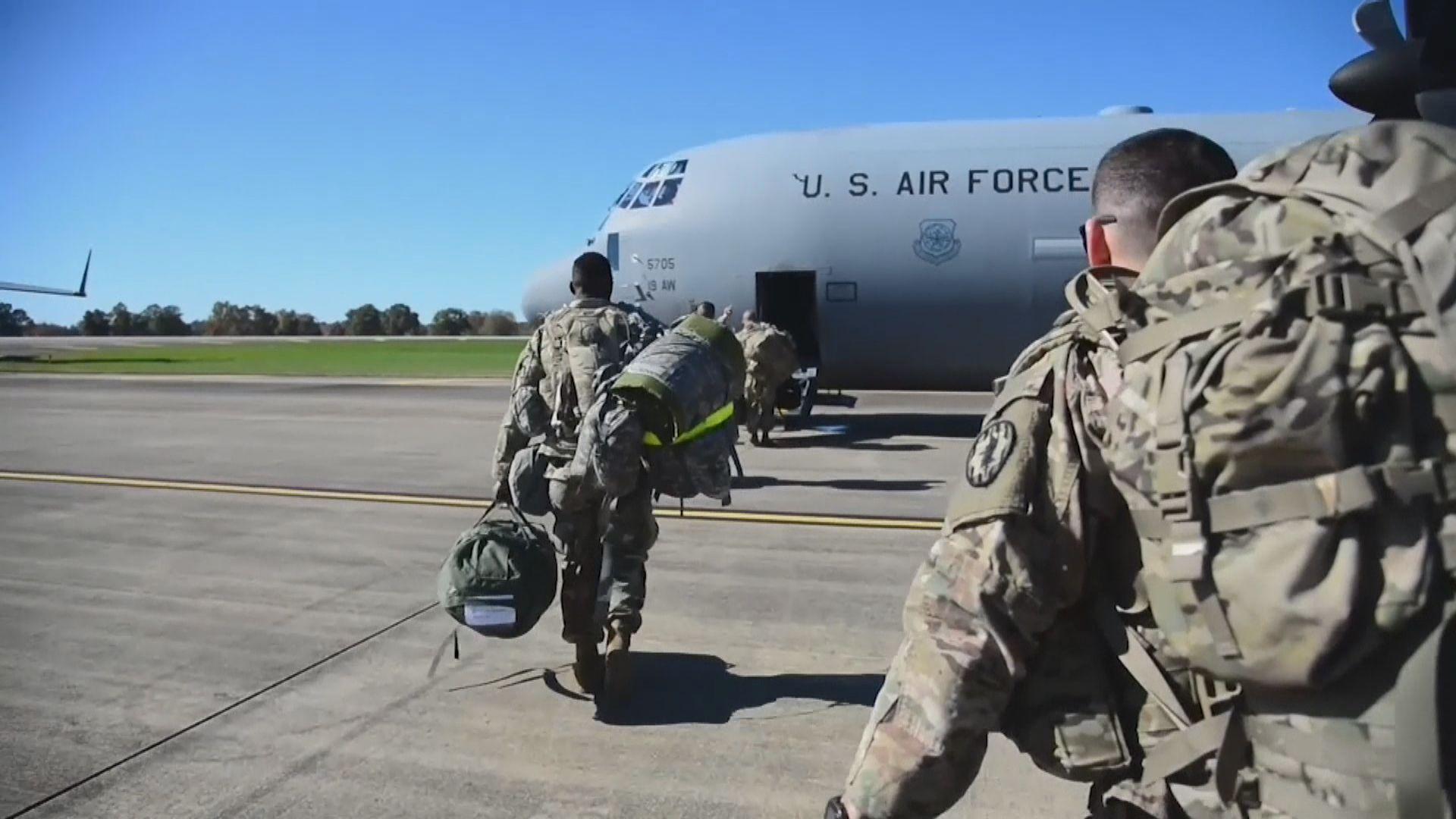 美軍國內行動受限制 赴邊境作為不大