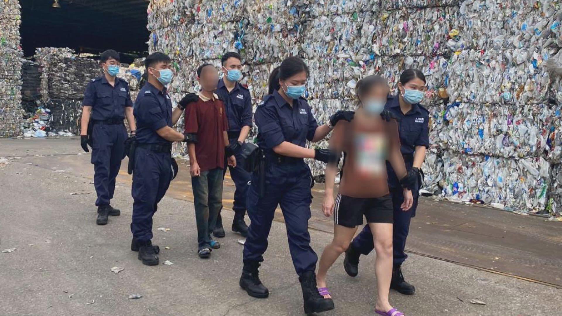 入境處展開反非法勞工行動 拘捕22人