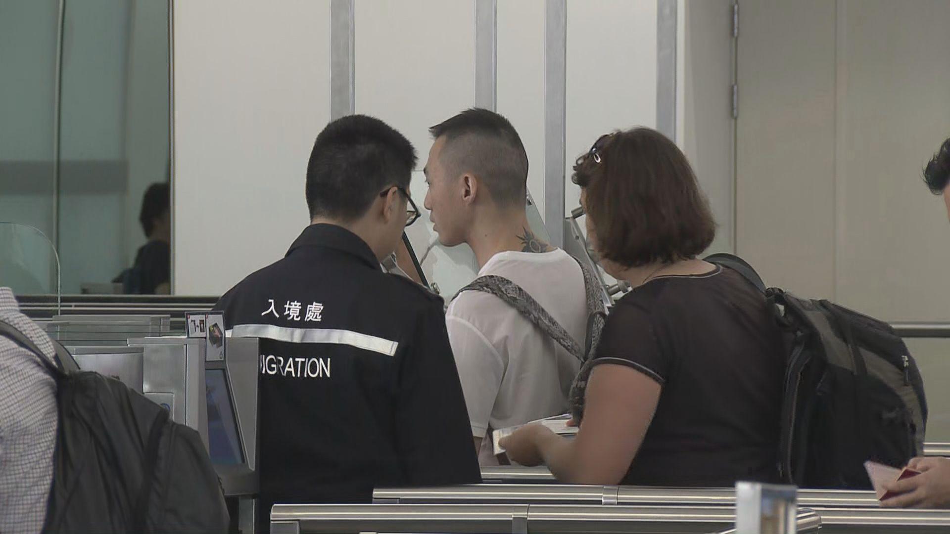 香港泰國可互用自助入境檢查服務