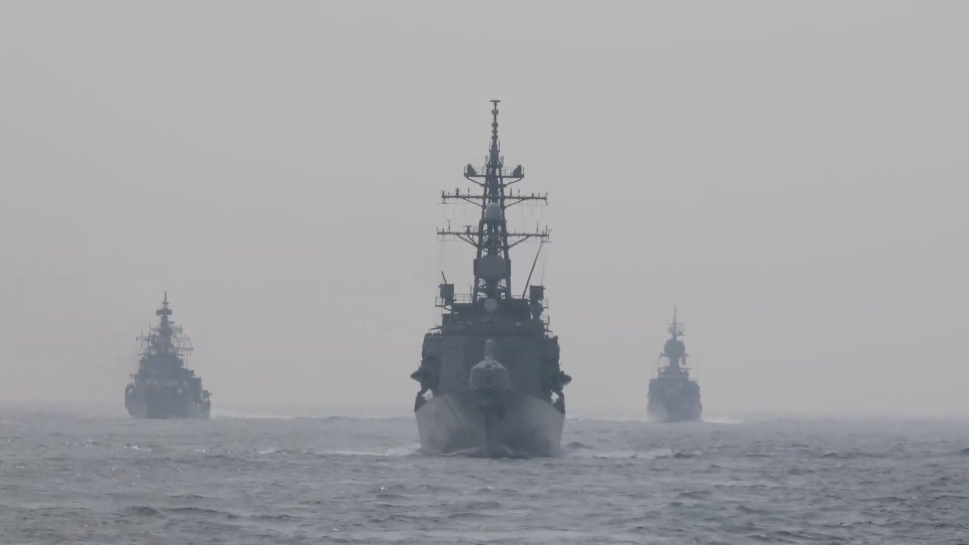 印度月底夥同美、日、澳進行海上聯合軍演
