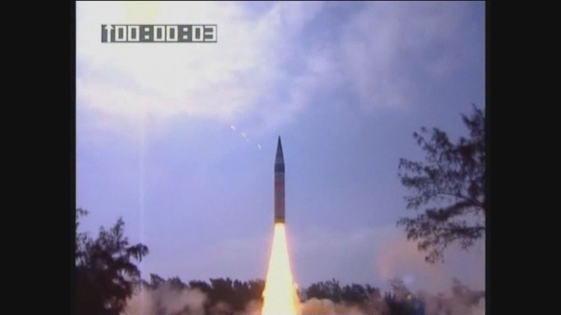 印度再次試射「烈火5型」 未測試分導式多彈頭技術