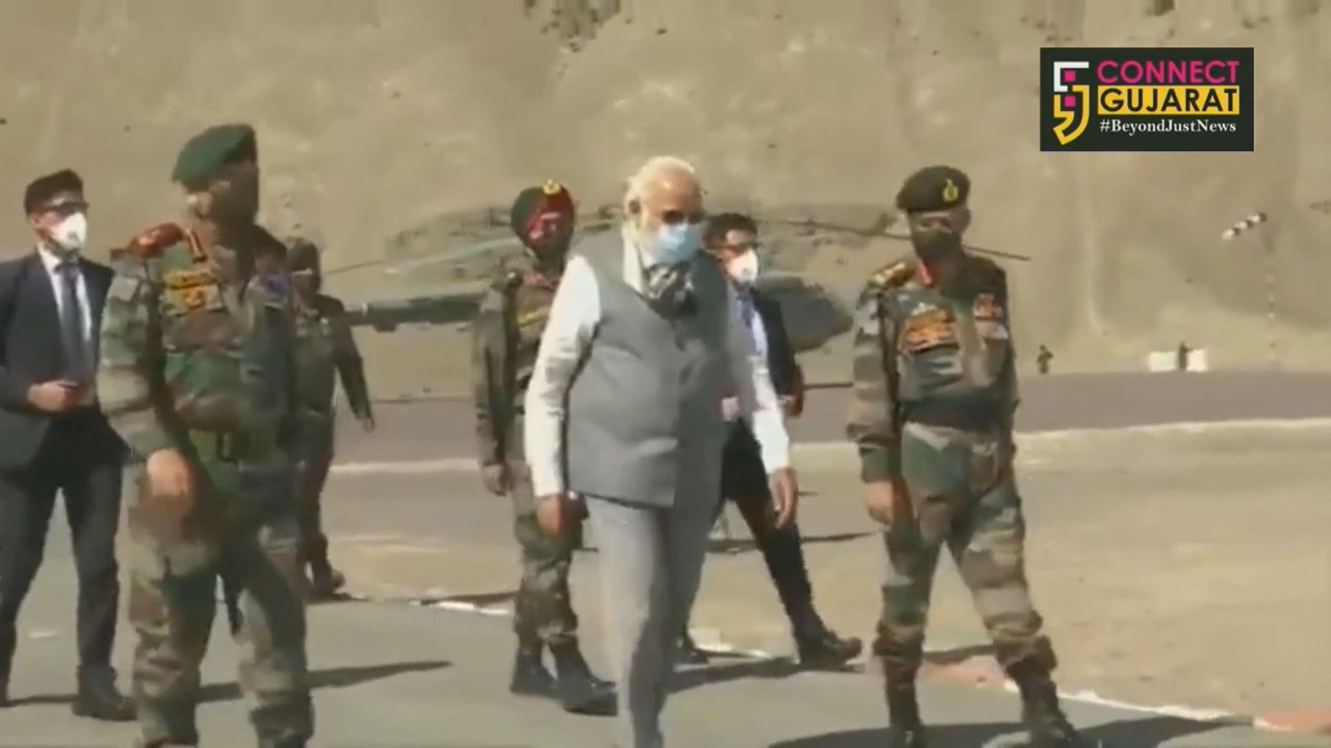 印總理莫迪突到訪發生中印衝突拉達克地區