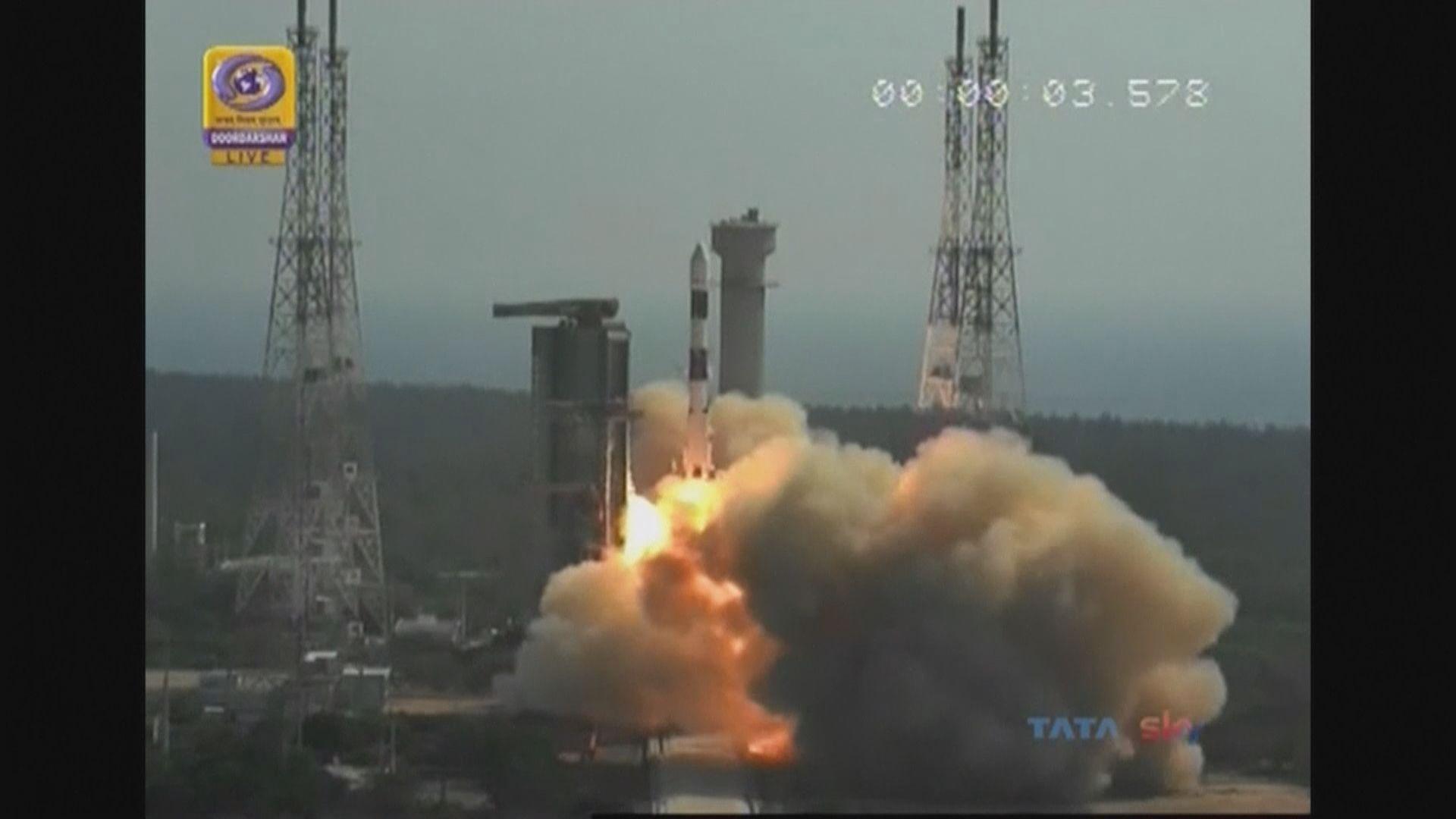 印度發射偵察衛星監視鄰國