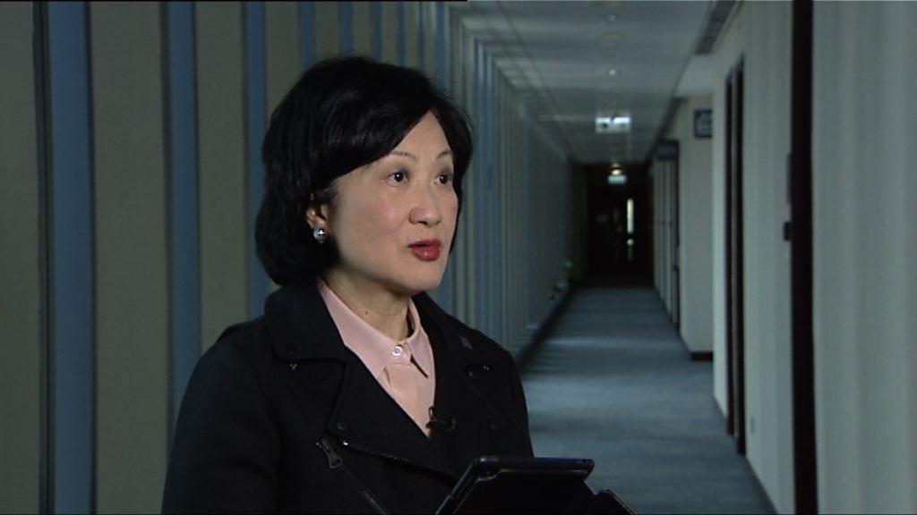 葉劉淑儀:不能單以港獨就屬違法