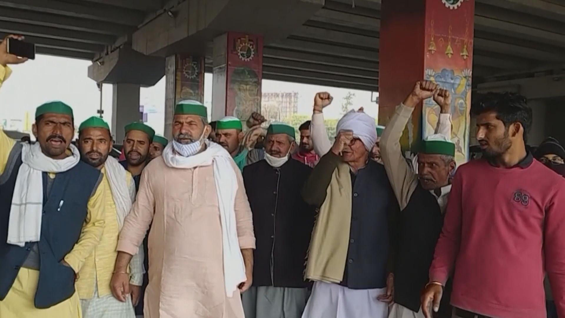 印度農民續抗議新法案影響生計