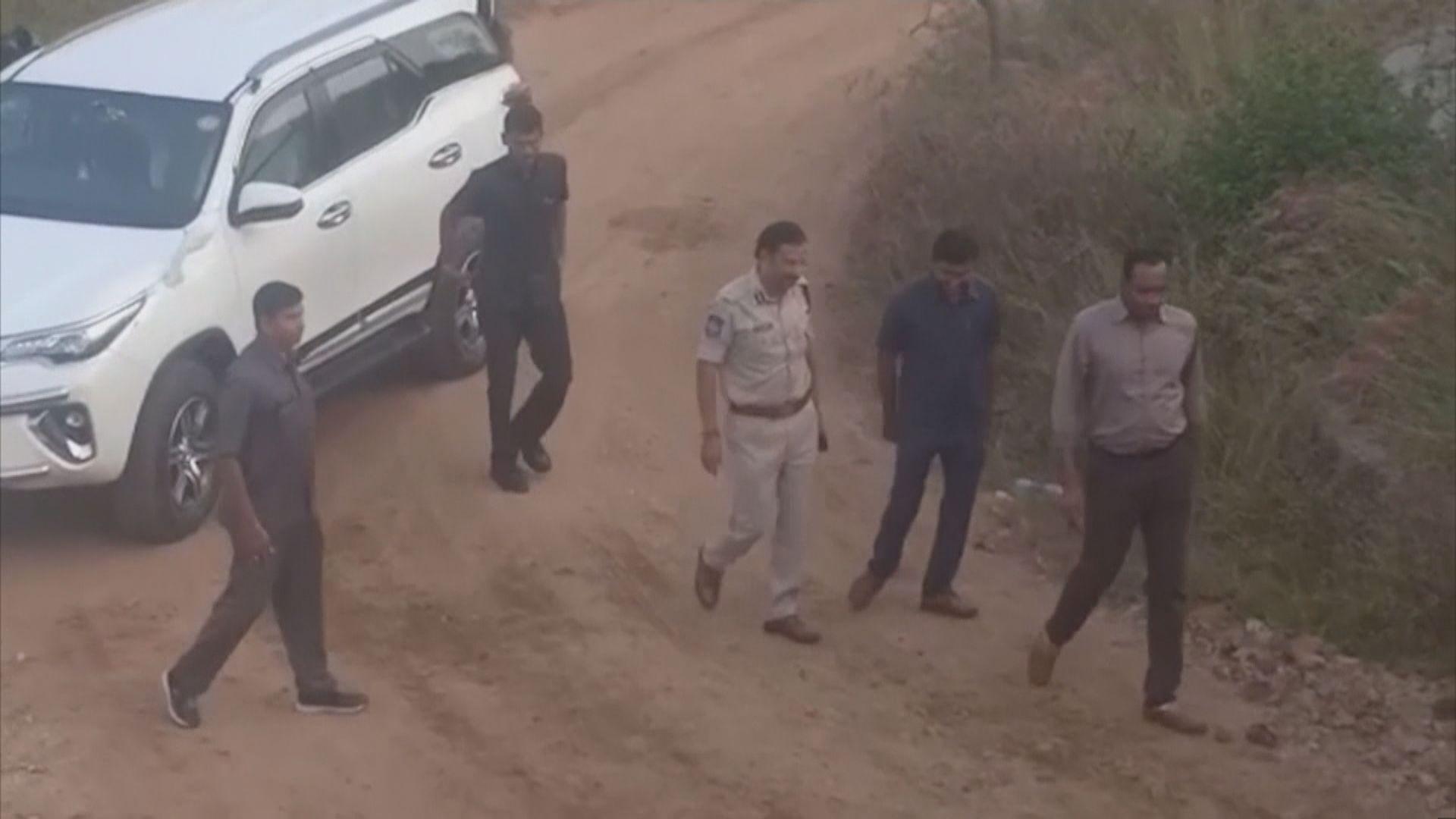 印度姦殺案疑犯遭警擊斃 民眾讚揚警察正義執法