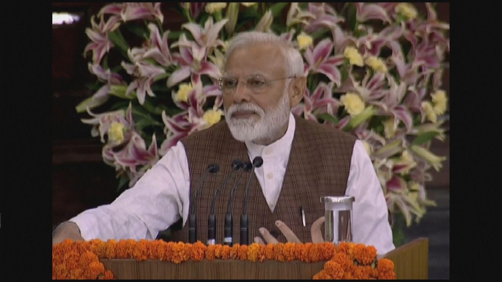 莫迪連任印度總理