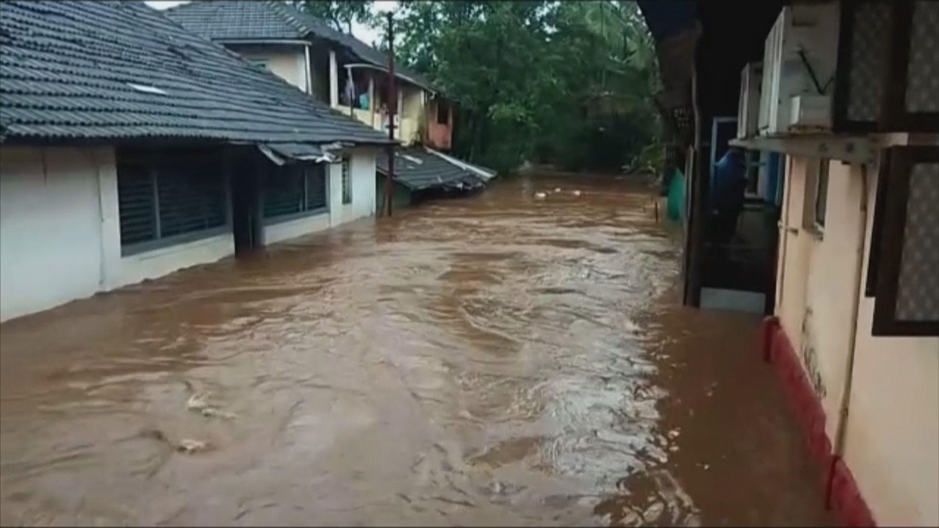 印度暴雨引發山泥傾瀉及洪災 136人死亡