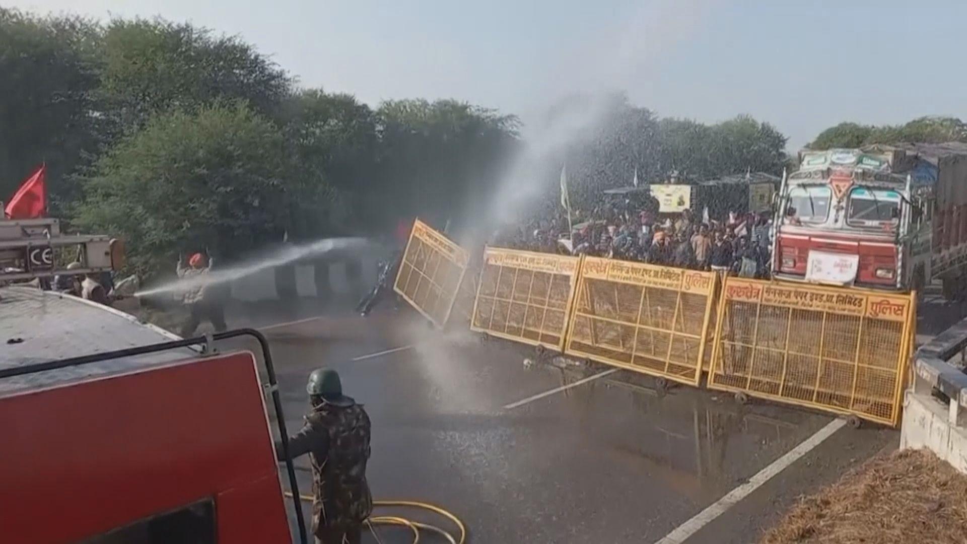 印度再有農民示威抗議新法案令收入大減