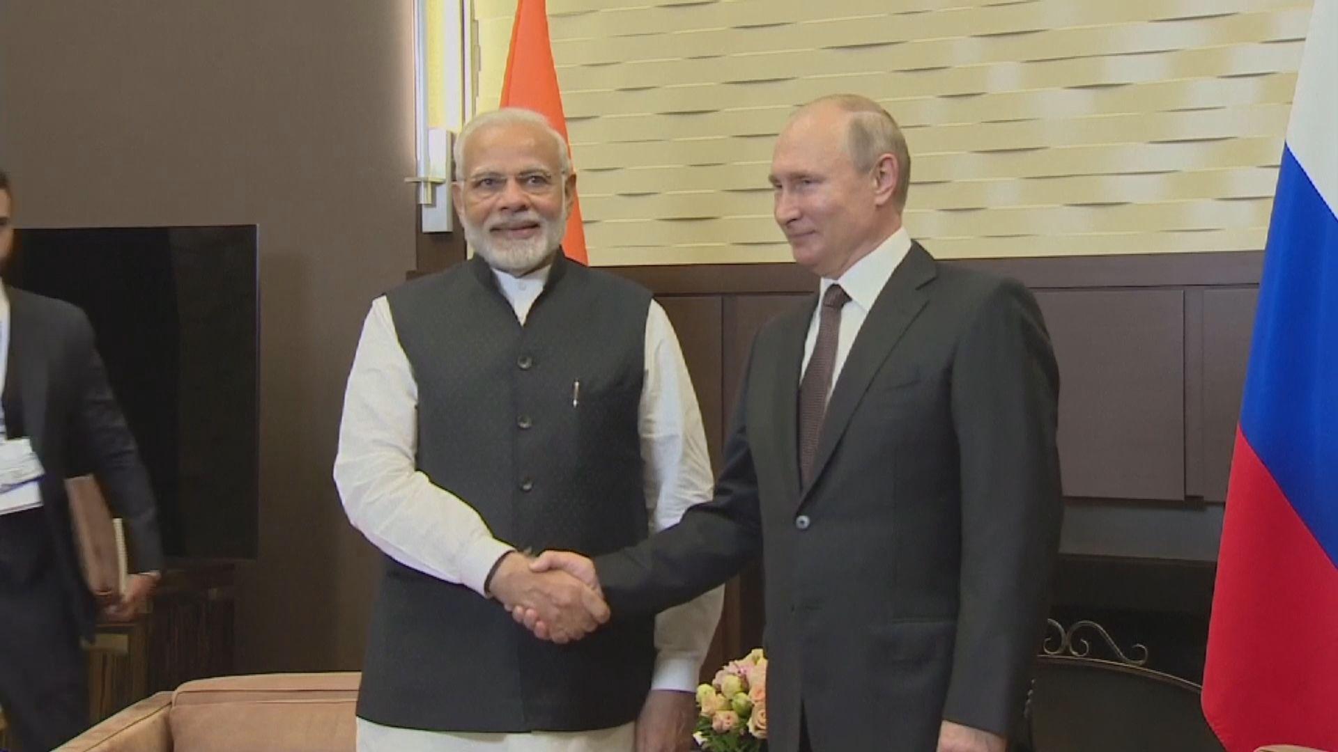 印度將購入巨額俄羅斯軍備