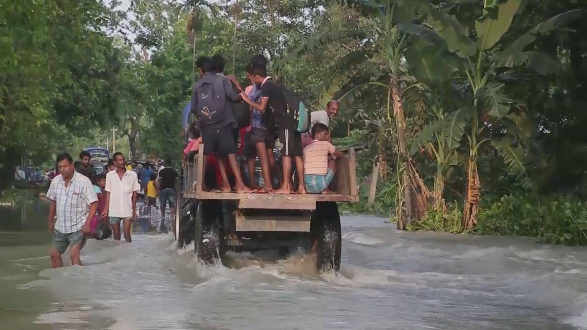 南亞暴雨成災逾164人死亡