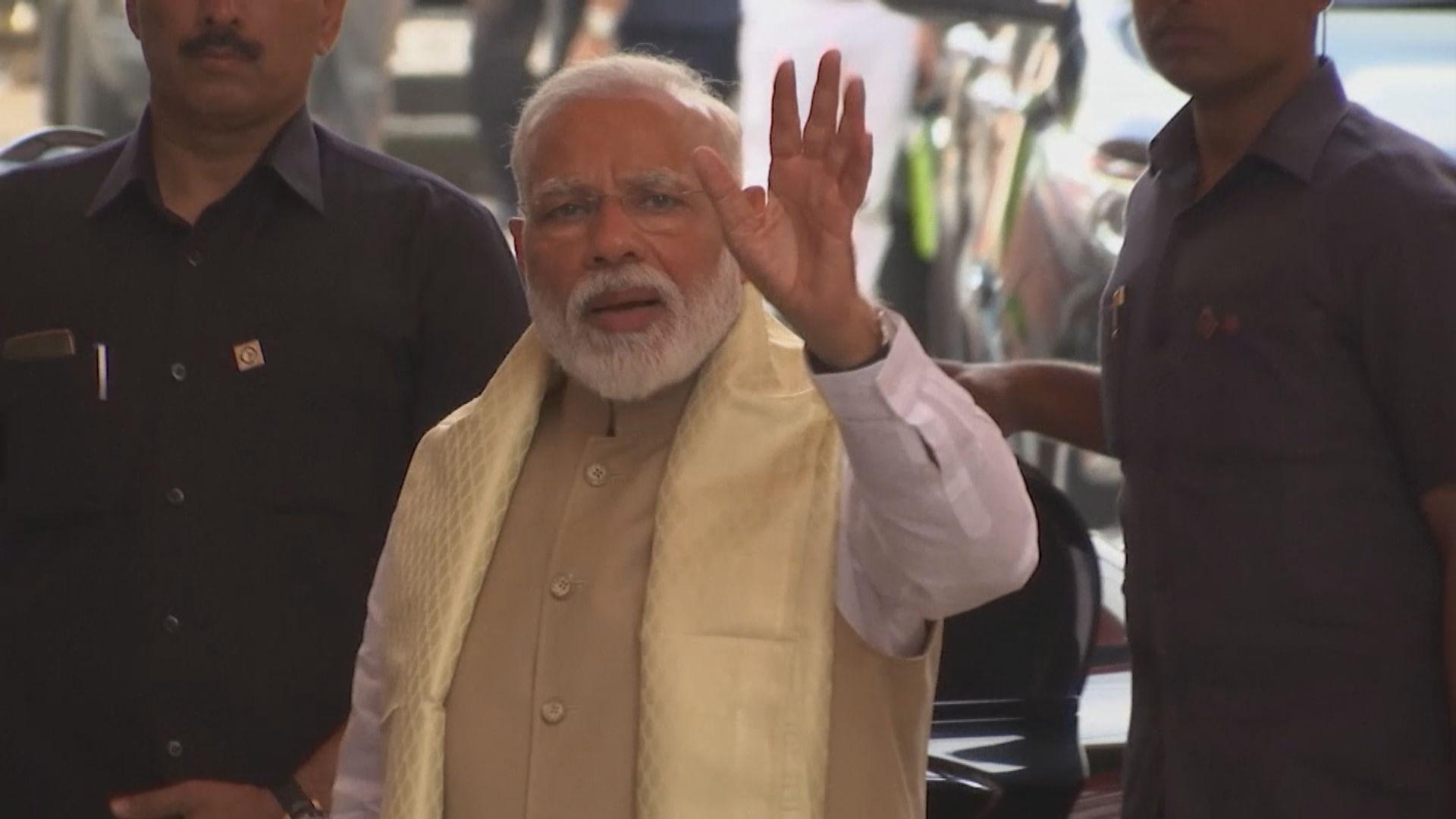 印度大選莫迪成功連任總理