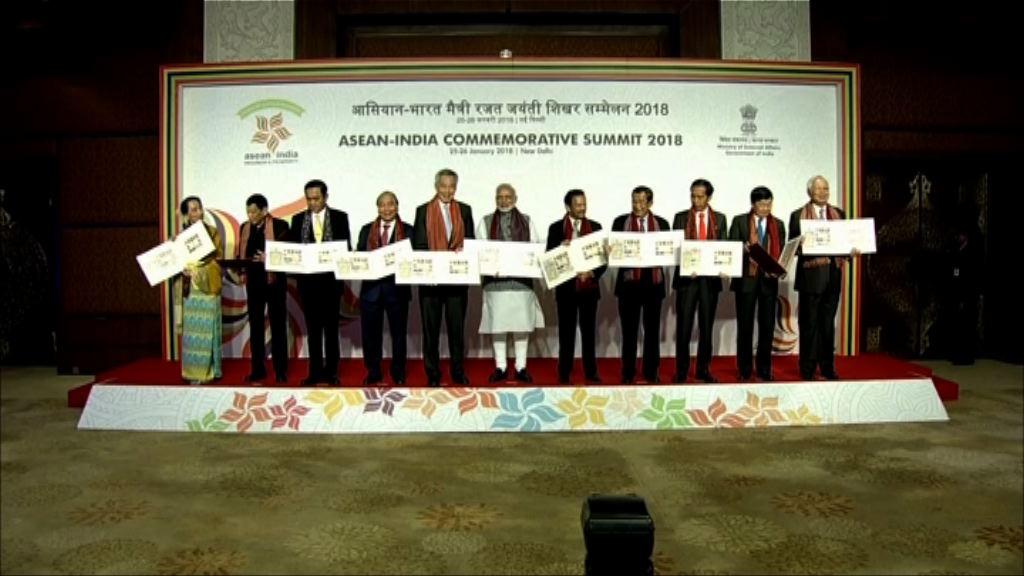 印度和東盟宣言加強海上合作