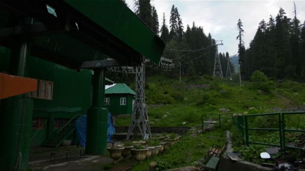 印度克什米爾纜車被大樹擊中釀七死