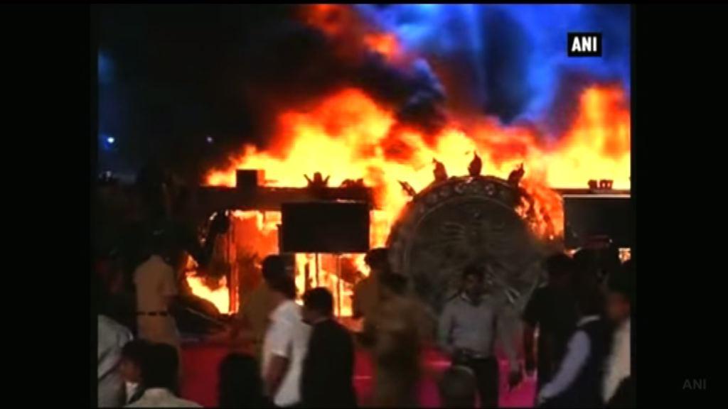 印度孟買舞台大火無人受傷