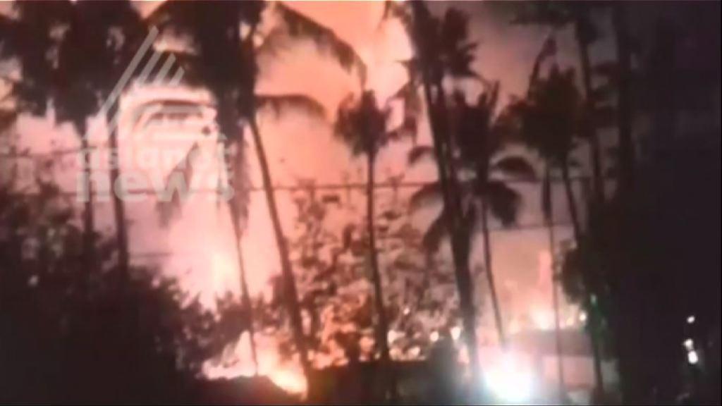 印度廟宇大火數百人死傷