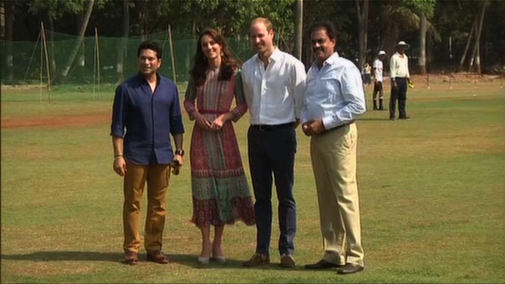 英國劍橋公爵夫婦到訪印度