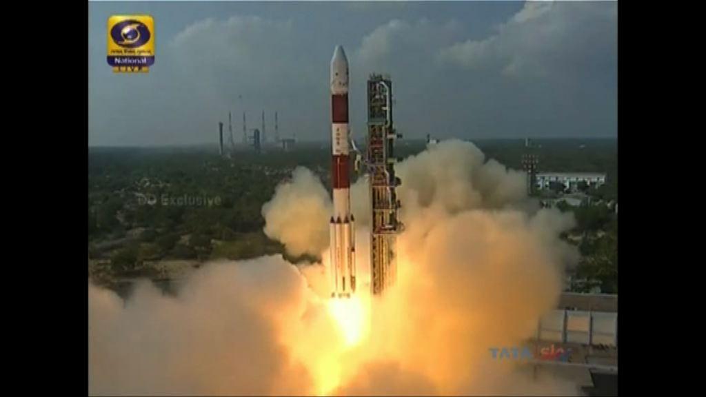印度破紀錄送百顆衛星上太空