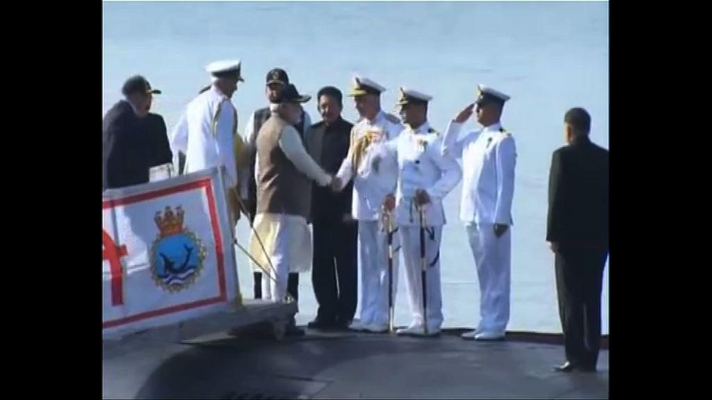 印度新國產柴電動力潛艇服役
