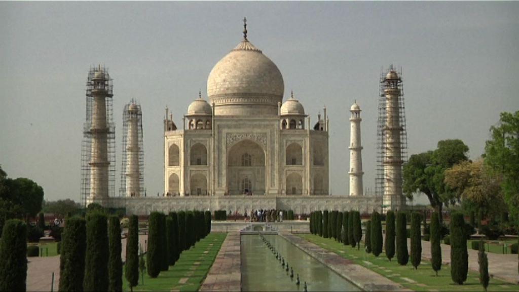 印度清潔泰姬陵圓頂面臨挑戰