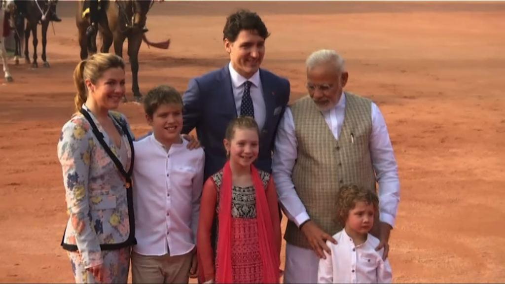 加國總理訪問印度備受冷待
