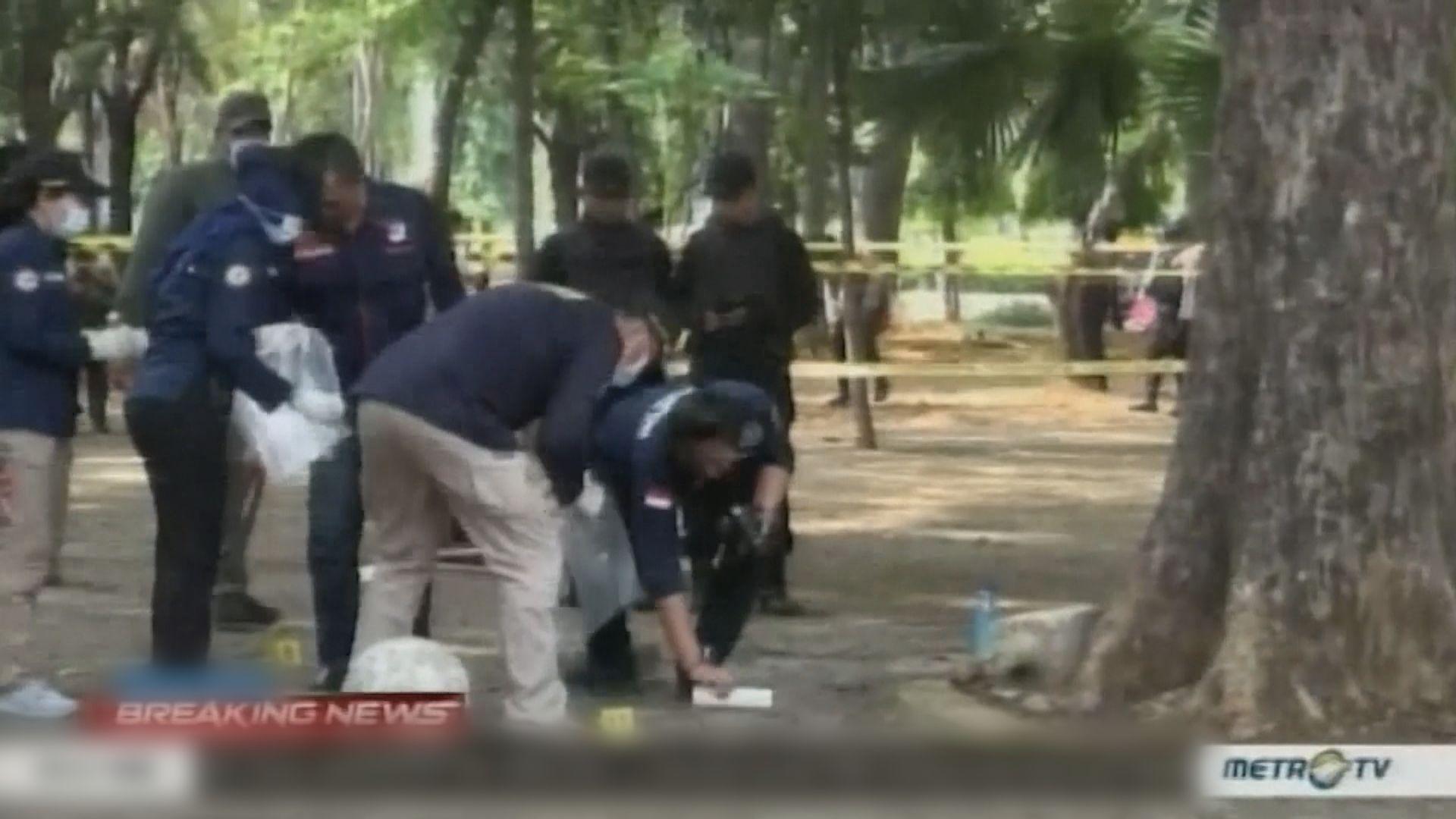 印尼總統府附近一個公園爆炸兩士兵傷