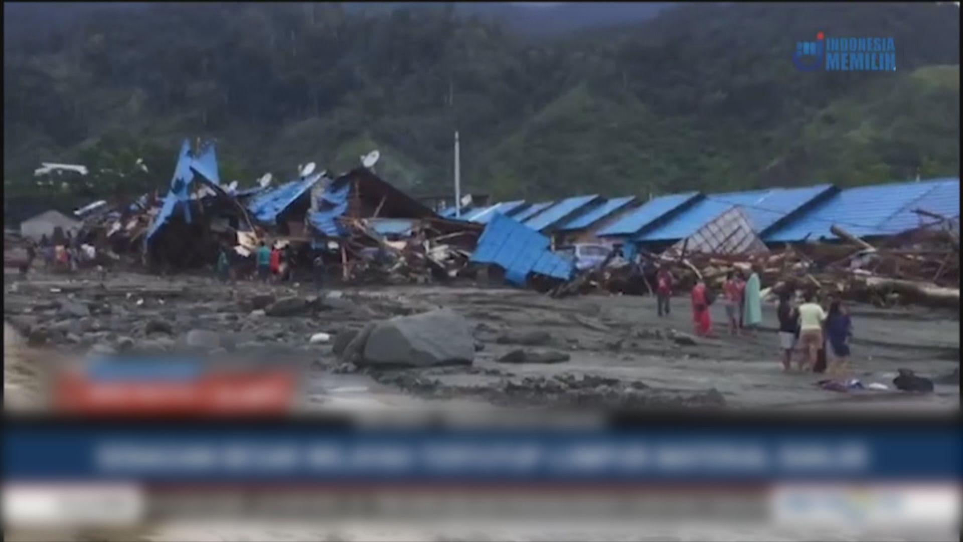 印尼巴布亞省嚴重洪災逾百人死傷