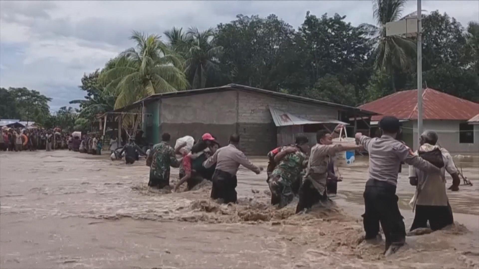 印尼和東帝汶暴雨引發洪災 多人死亡