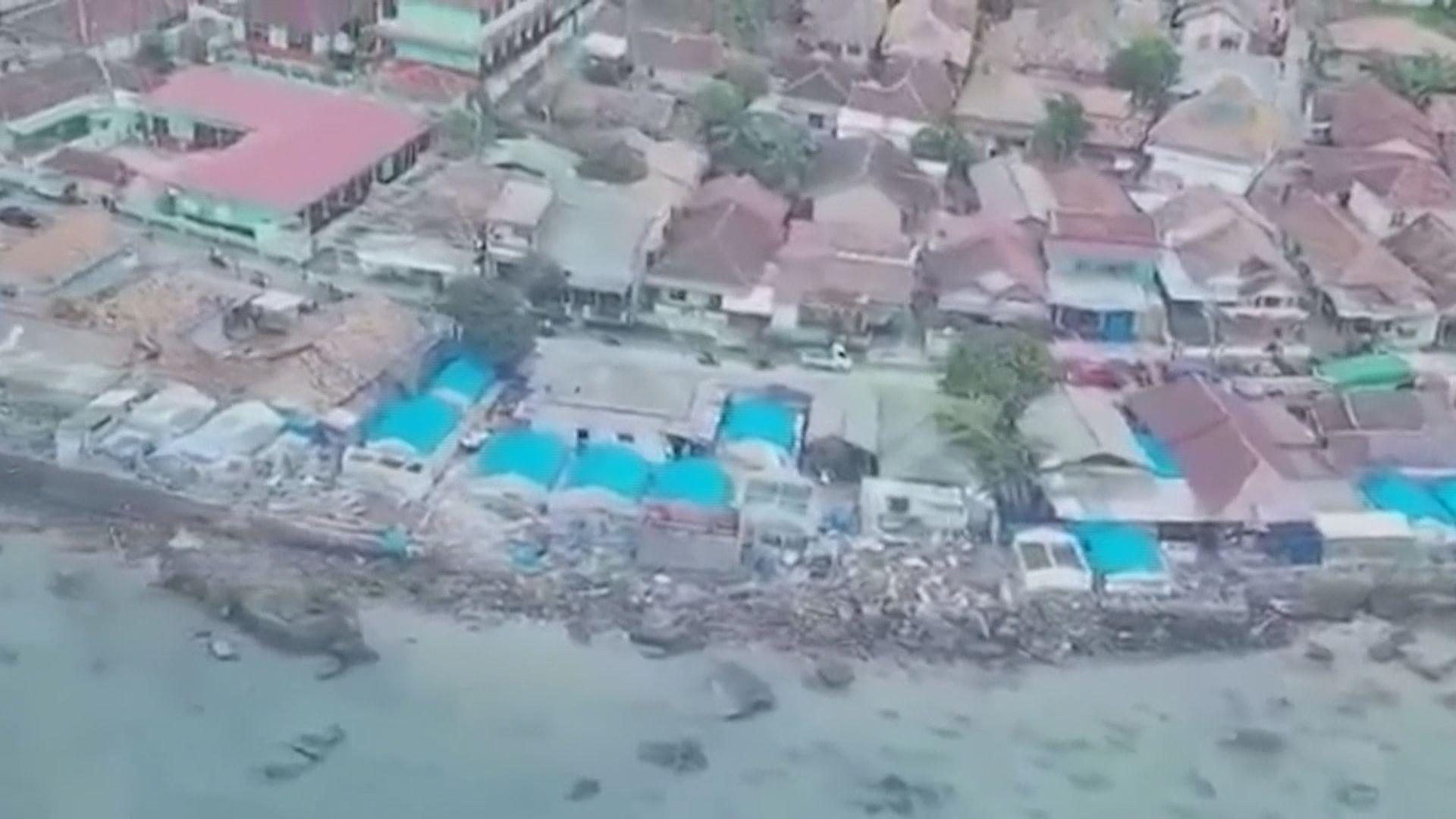 印尼西部海嘯 政府一度誤稱只是漲潮現象