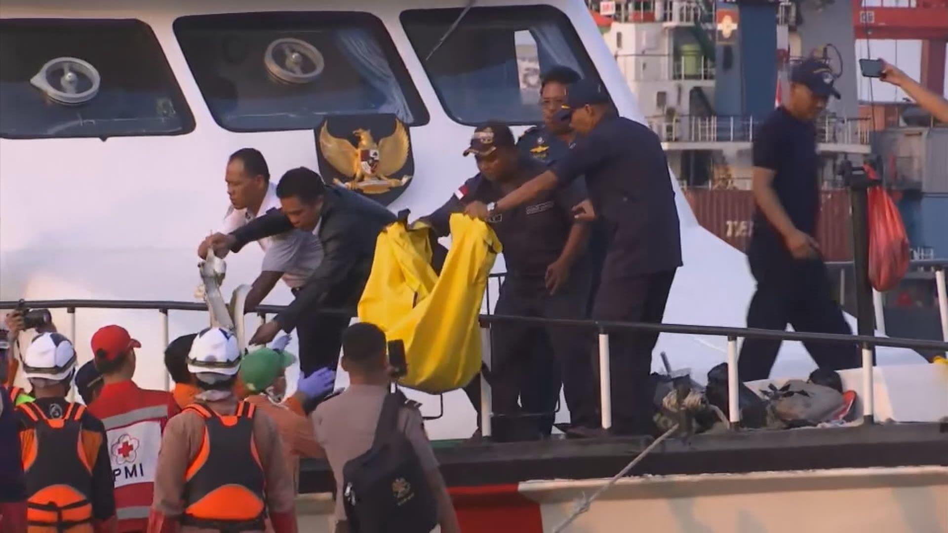 印尼獅航客機墮海 搜救人員找到乘客殘肢