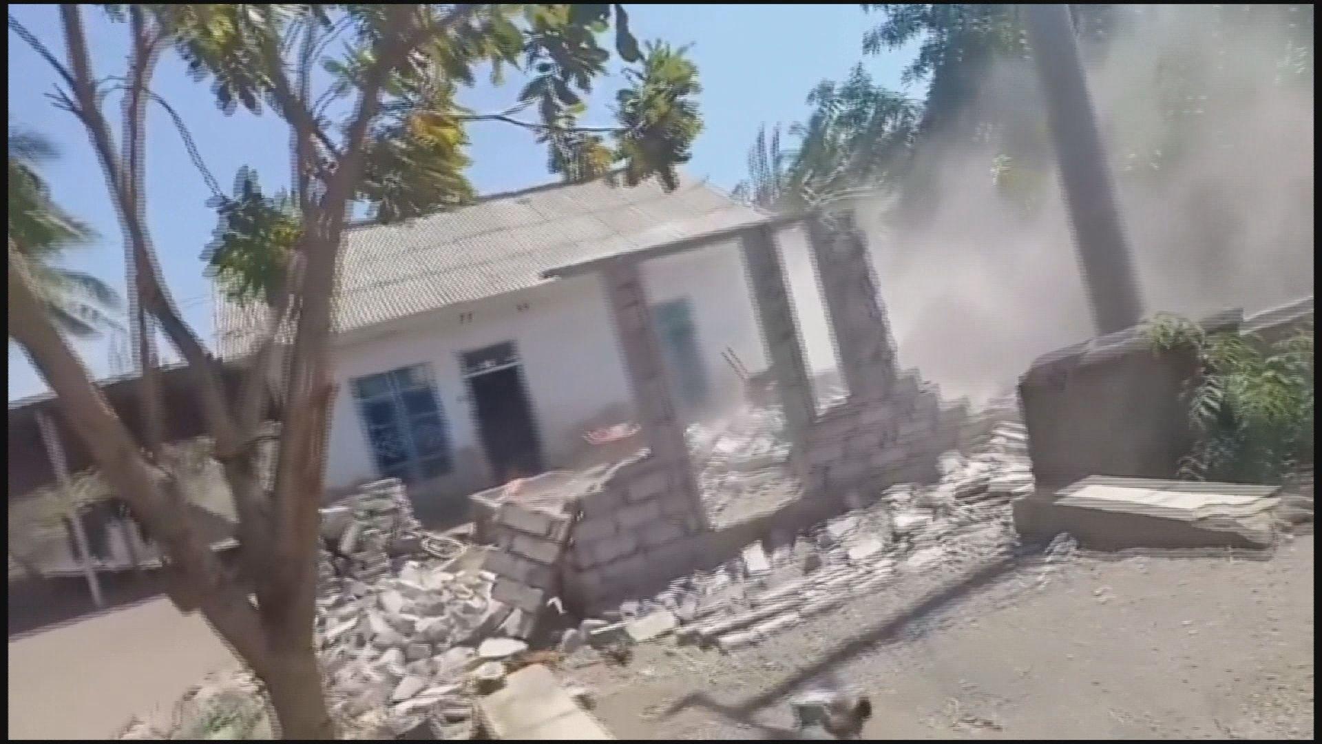 印尼龍目島再發生強烈地震兩死