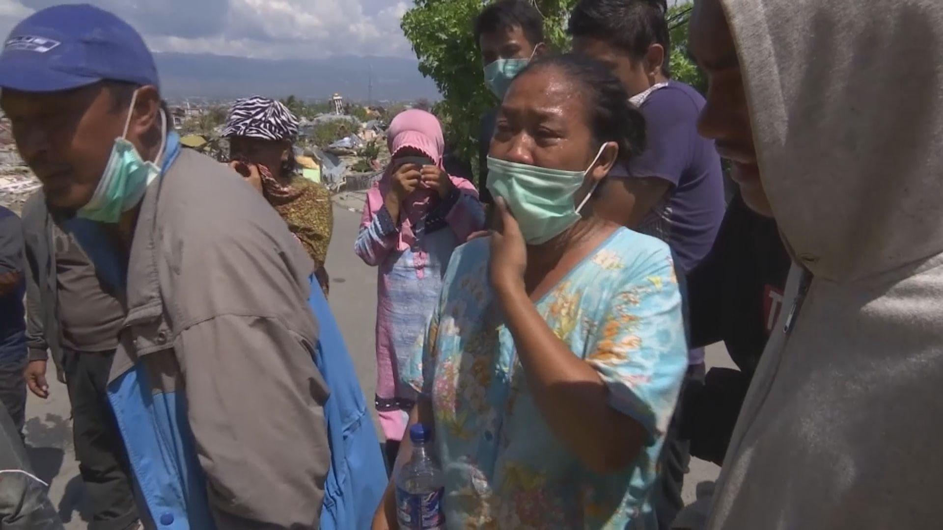 印尼地震和海嘯增至逾1700人死亡