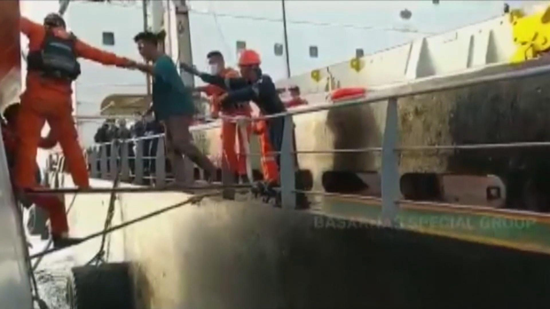 印尼漁船與貨船相撞 最少2死