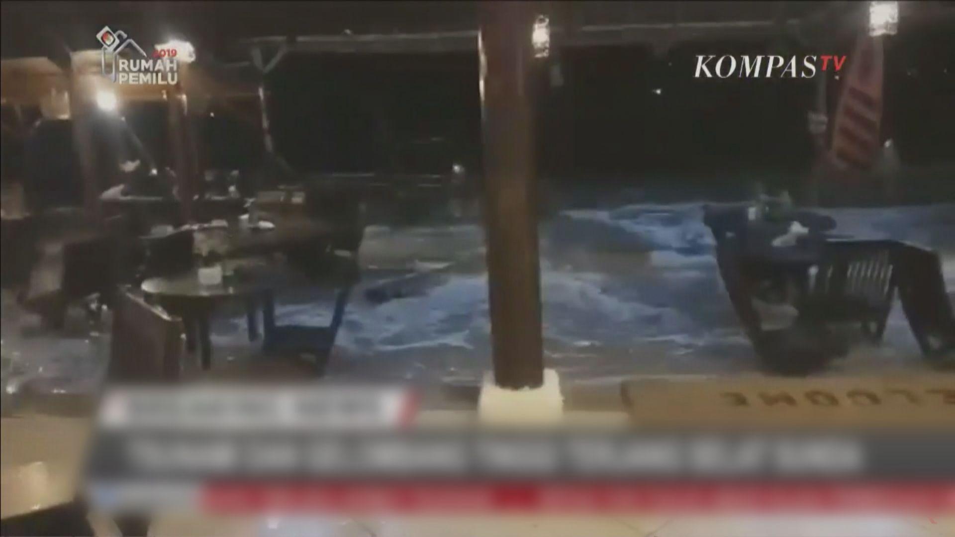 印尼海嘯逾60死數百人傷