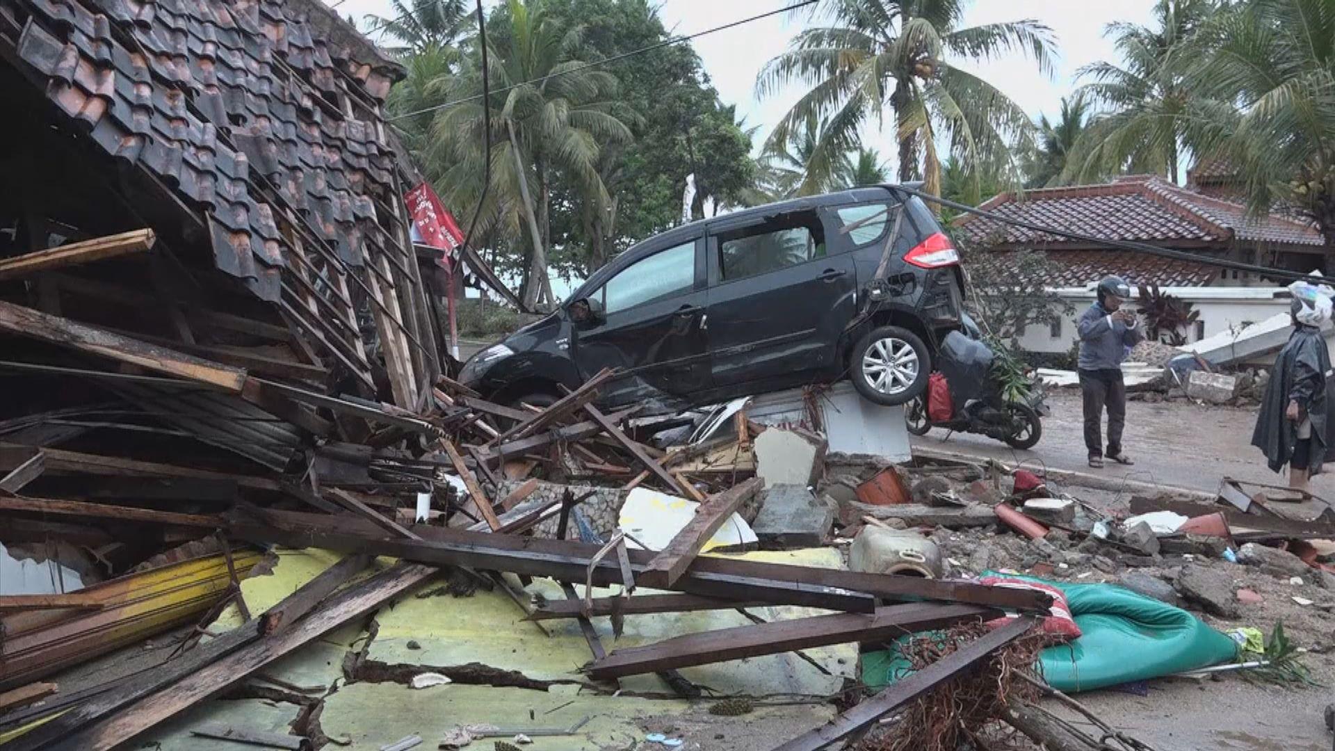 印尼警告火山或再爆發並致海嘯