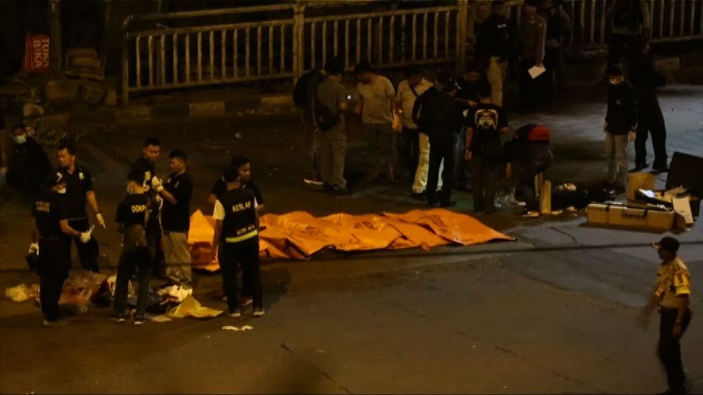 雅加達巴士站遭炸彈襲擊多人死傷