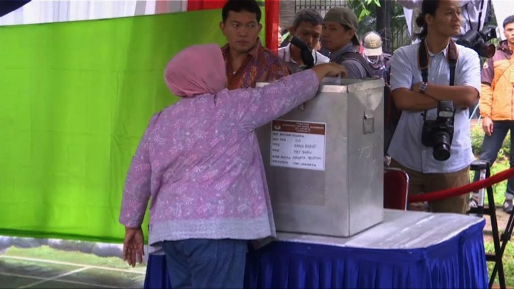 印尼雅加達省長選舉將進入第二輪投票