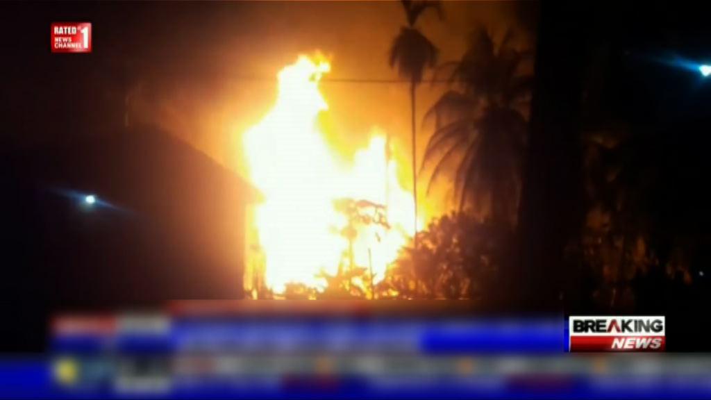 印尼亞齊省油井起火15死數十人傷