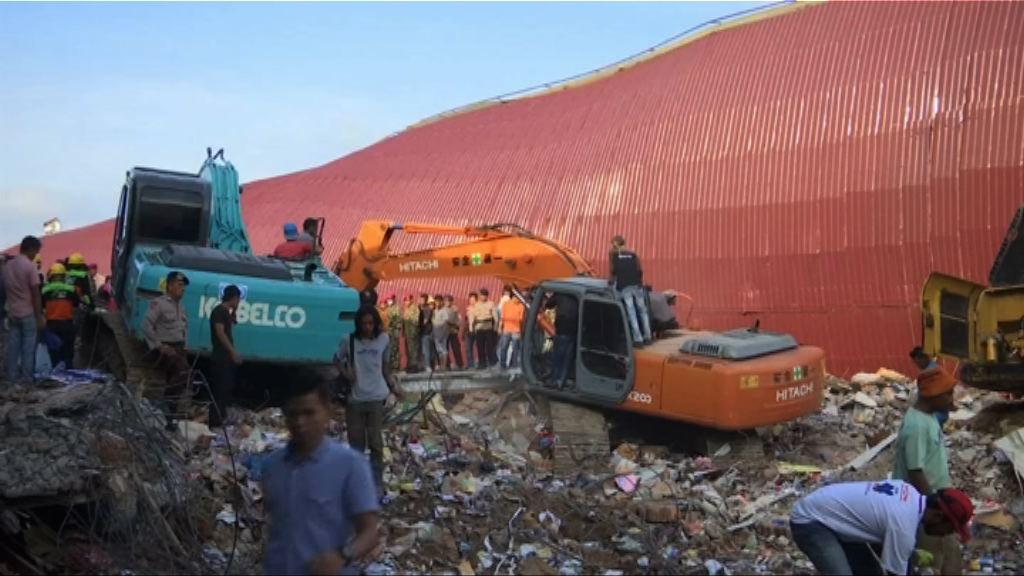 印尼地震缺大型器械阻救援