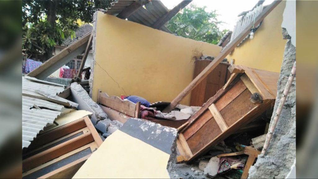印尼龍目島強烈地震 最少三死