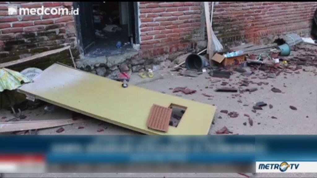 印尼龍目島六點四級地震 最少十死四十傷