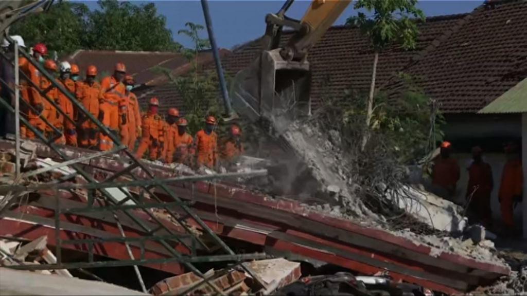 印尼龍目島7級地震 官方公布98人死