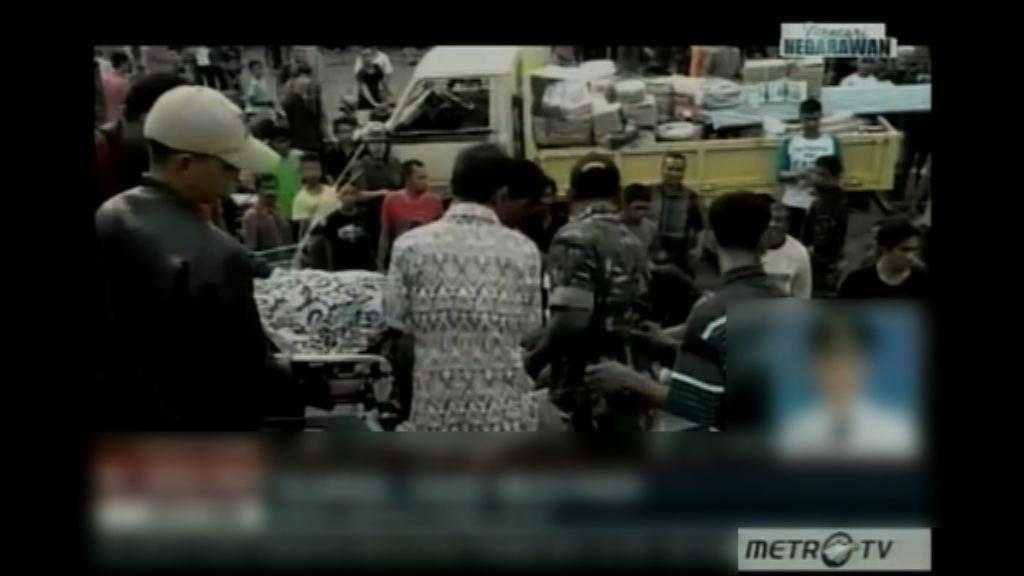印尼6.5級地震升至97人死