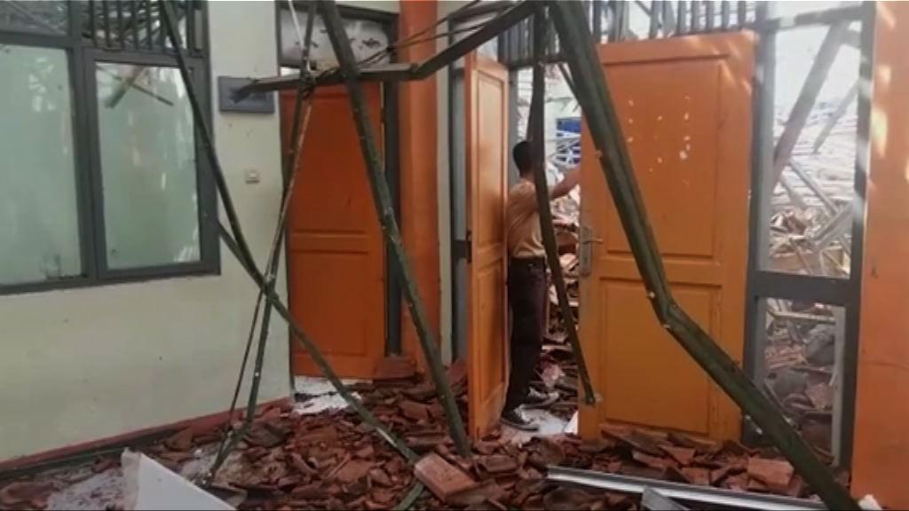 印尼西爪哇6.5級地震兩人死