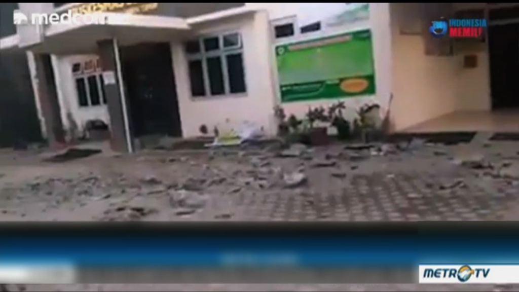 印尼龍目島強烈地震 一名大馬遊客死亡