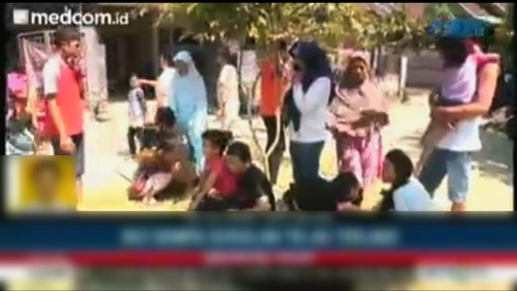 印尼龍目島再遇強震達6.2級