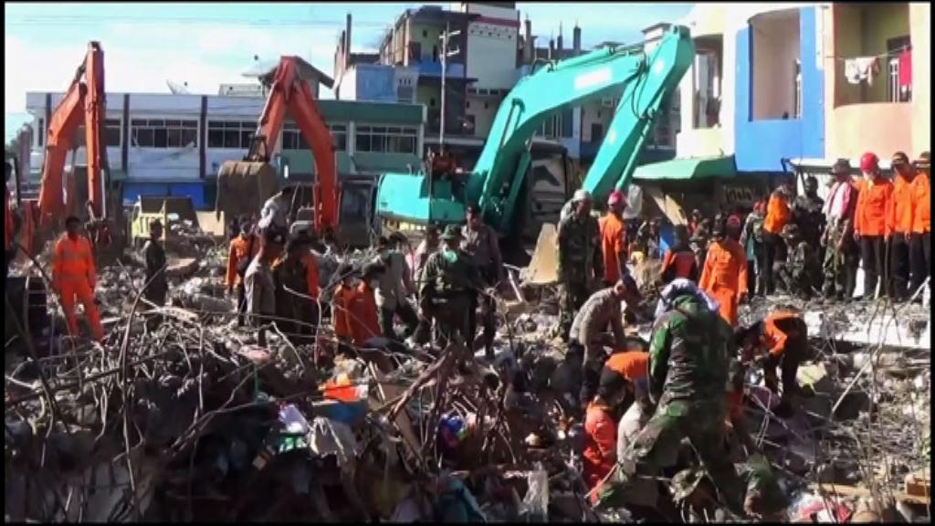 印尼6.5級地震 逾百人死亡