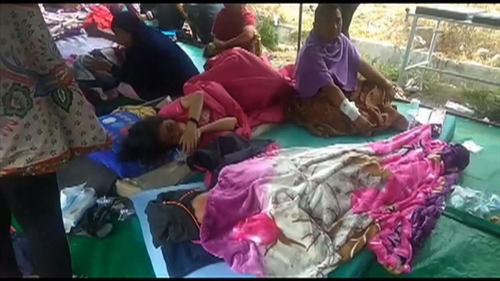 印尼龍目島強烈地震最少14人死亡