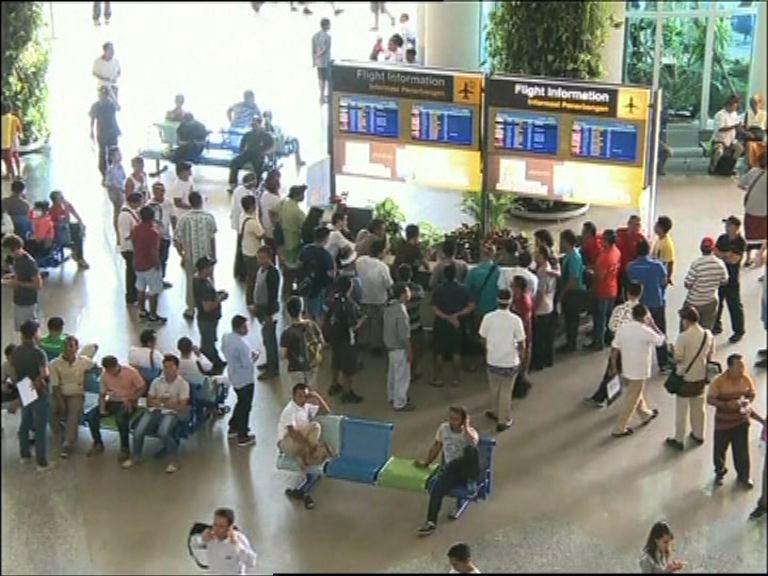 峇里島機場服務今午陸續恢復正常